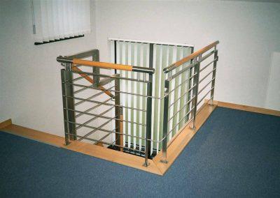 INOX drvena ograda sl.52
